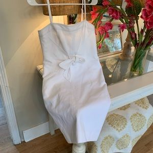 ETCETERA SIZE 4 white dress!